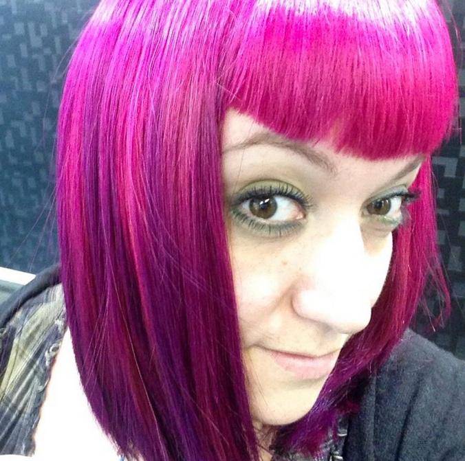 violettipinkkiotsis