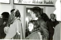 Isä ja minä Helsinki-Vantaan lentoasemalla 1992.